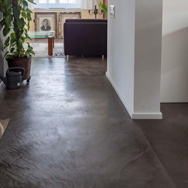 Terreno Boden im Wohnzimmer