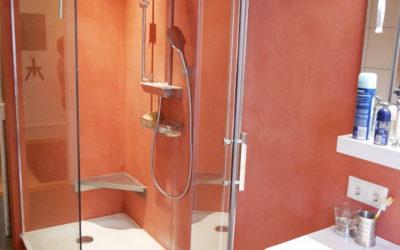 SoloCalce und Elementi in der Dusche