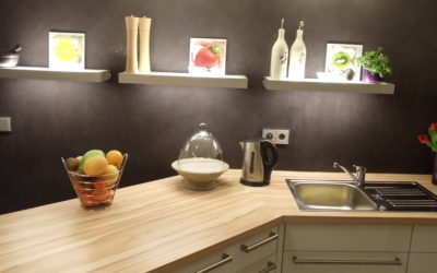 SoloCalce Küche in Anthrazit